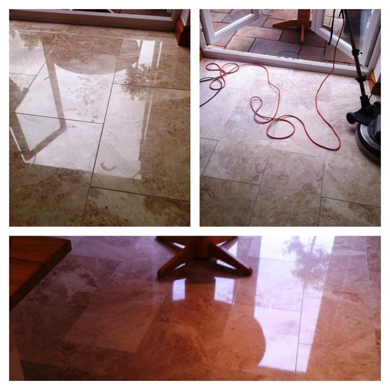 Marble floor photo