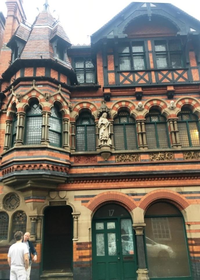 Tessera Mosaic Floor Restoration Waton Fothergill Building Lace Market Nottingham City